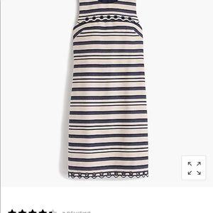 J.Crew shift dress must have size 8.